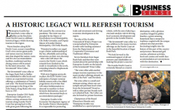 A historical legacy will refresh tourism