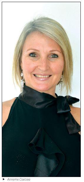 CEO Anneme Coetzee