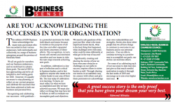 Are You Acknowledging The Success In Your Organisation?