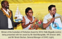 Ethekwini Hospital and Heart Centre: Custodian of Perfection Award 2010