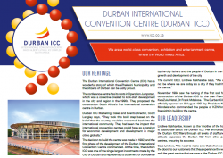 Durban International Convention Centre (ICC)