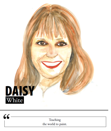 Daisy White - Teaching the world to paint