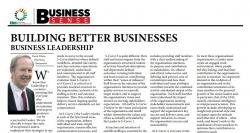 David White - Building better business: Business leadership