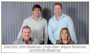 Beekman Group Directors: John Beekman, Cindy Allan, Wayne Beekman and Neville Beekman