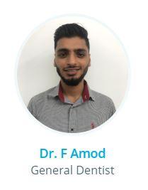 Dr F Amod