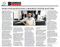 Dr Fareed Amod - Does Straightening Crooked Teeth Matter