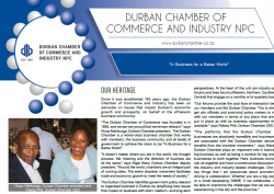 Chamber of Commerce and Industry NPC