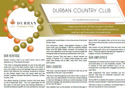 Durban Country Club