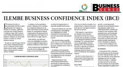Ilembe Business Confidence Index (IBCI)