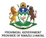 KZN Provincial Government Logo