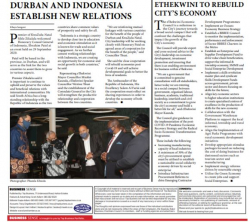 Khaya Sengani - Durban and Indonesia establish new relations