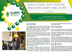 KwaZulu-Natal Joint Municipal Pension/Provident Funds (NJMPF)