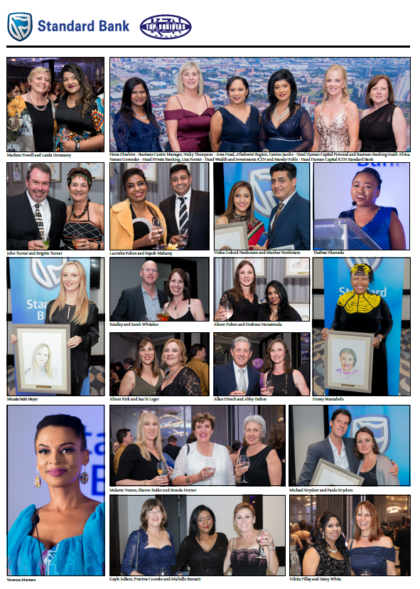 Standard Bank KZN Top Business Women 2019