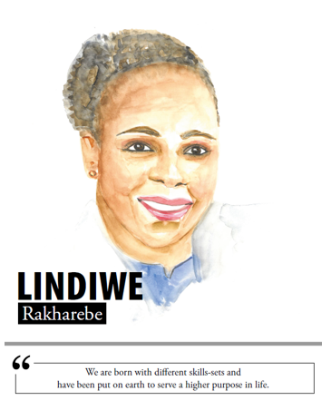 Lindiwe Rakharebe - We are born with different skills-sets and have been put on earth to serve a higher purpose in life
