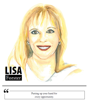Lisa Forster - Putting up your hand for every opportunity