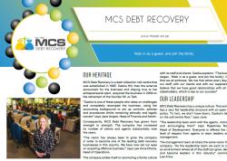 MCS DEBT RECOVERY