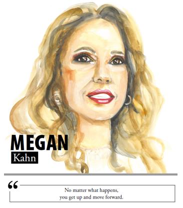 Megan Kahn - No matter what happens, you get up and move forward