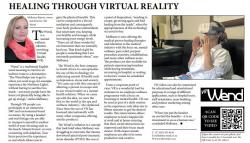 Melloney Rijnvis  Healing through virtual reality