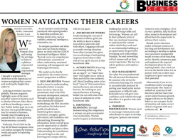 Michelle Cronje - Women navigating their careers