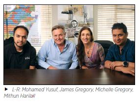 Mohamed Yusuf, James Gregory, Michelle Gregory, Mithun Harilall