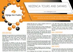 NDZENGA TOURS AND SAFARIS