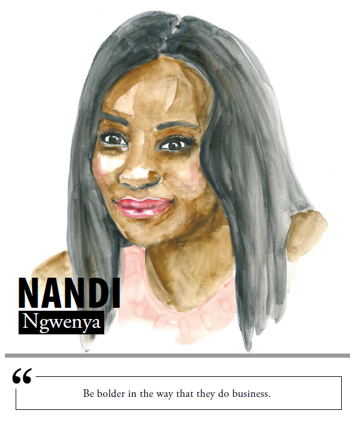 Nandi Ngwenya - Be bolder in the way that they do business