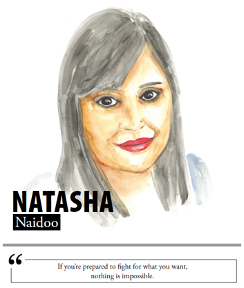 Natasha Naidoo - If you're prepared to fight for what you want, nothing is impossible