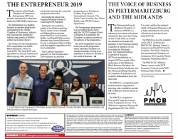 PMCB - The Voice Of Business In Pietermaritzburg And The Midlands
