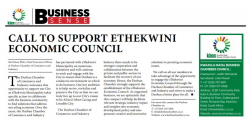 Palesa Phili - Call to support Ethekwini Economic Council