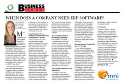 Roslyn Argall - When Does A Company Need ERP Software
