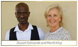 Russsell Nzimande and Merrill King