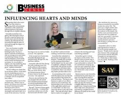 Samantha Watt - Influencing hearts and minds