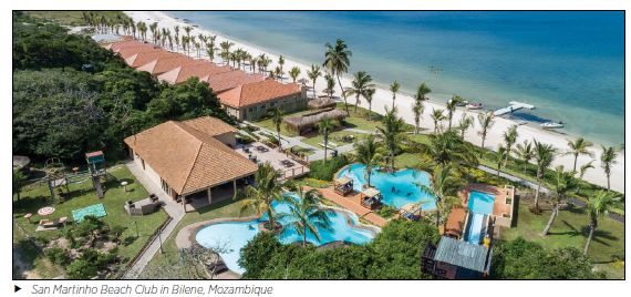San Martinho Beach Club in Bilene Mozambique