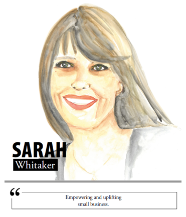 Sarah Whitaker - Empowering and uplifting small business