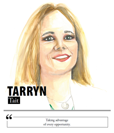 Tarryn Tait - Taking advantage of every opportunity