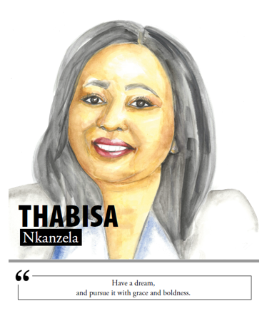 Thabisa Nkanzela - Have a dream, and pursue it with grace and boldness