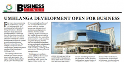 Umhlanga development open for business