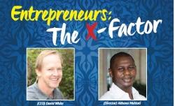 David White and Akhona Mahlati from BusinessFit