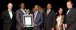 Suncoast Casino, Hotels & Entertainment reigned supreme at the FNB KZN Top Business Awards ceremony