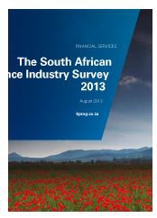 KPMG - 2013 South African Insurance Survey